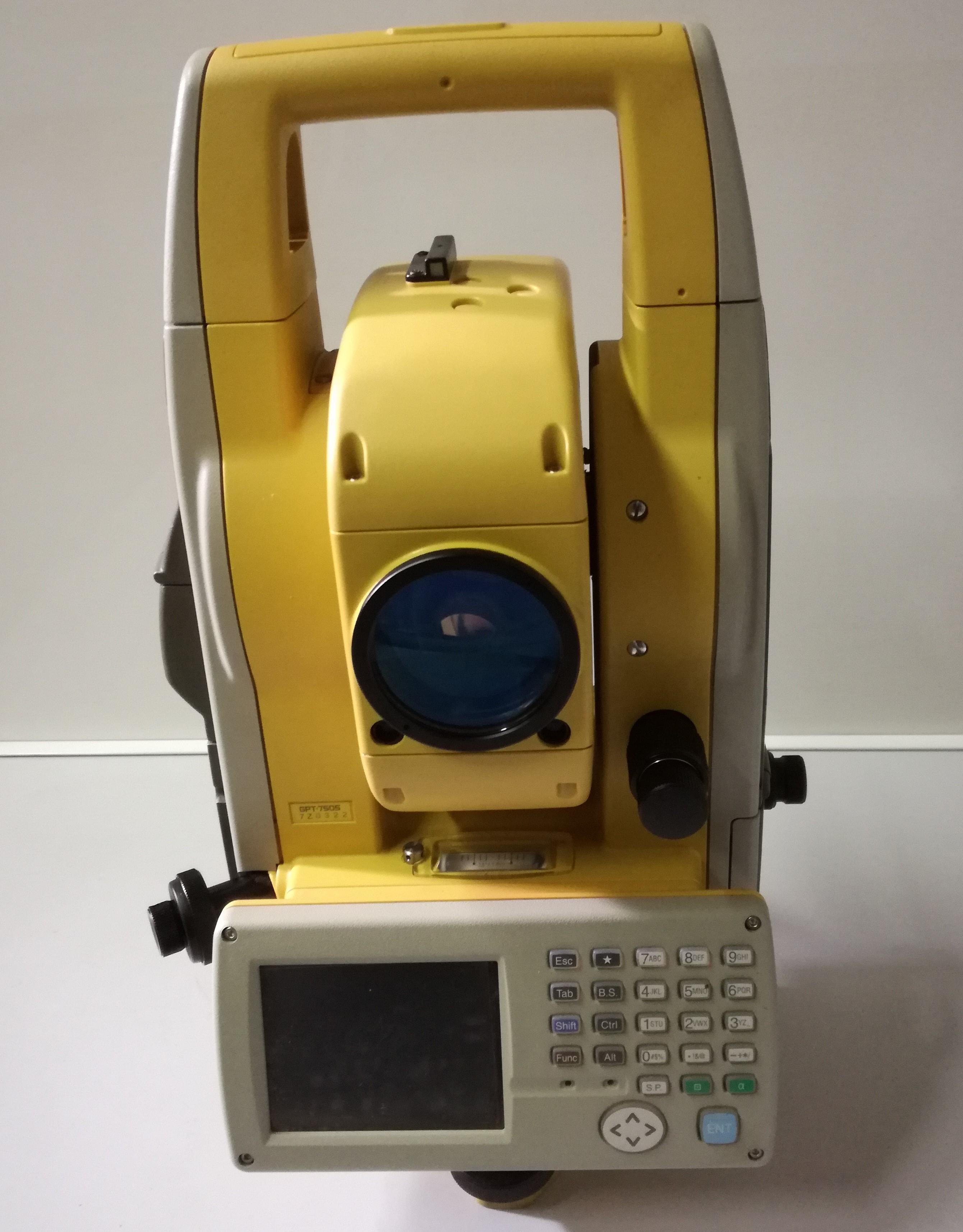 STAZIONE TOTALE TOPCON GPT7505