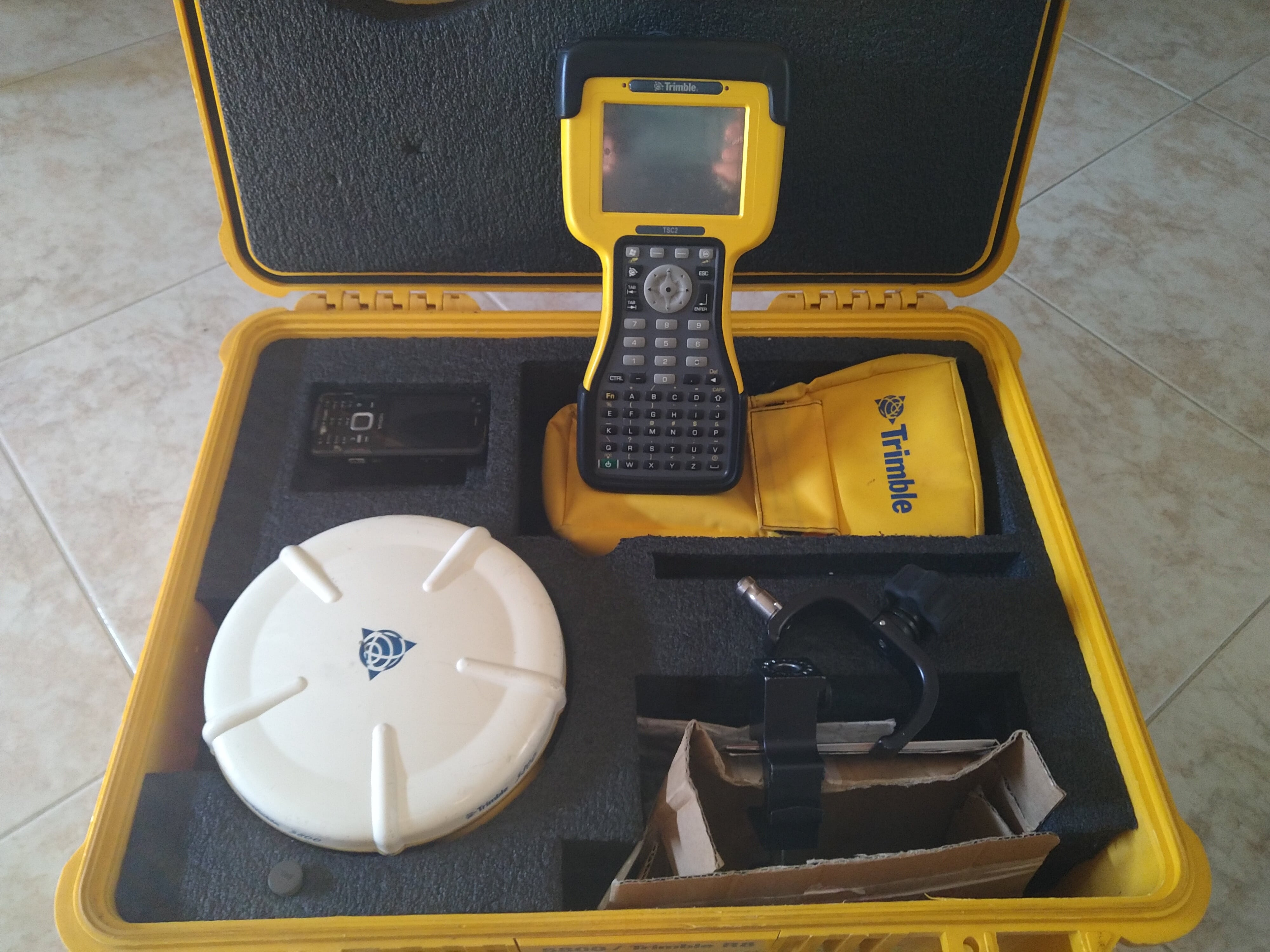 GPS TRIMBLE SATELLITARE 5800